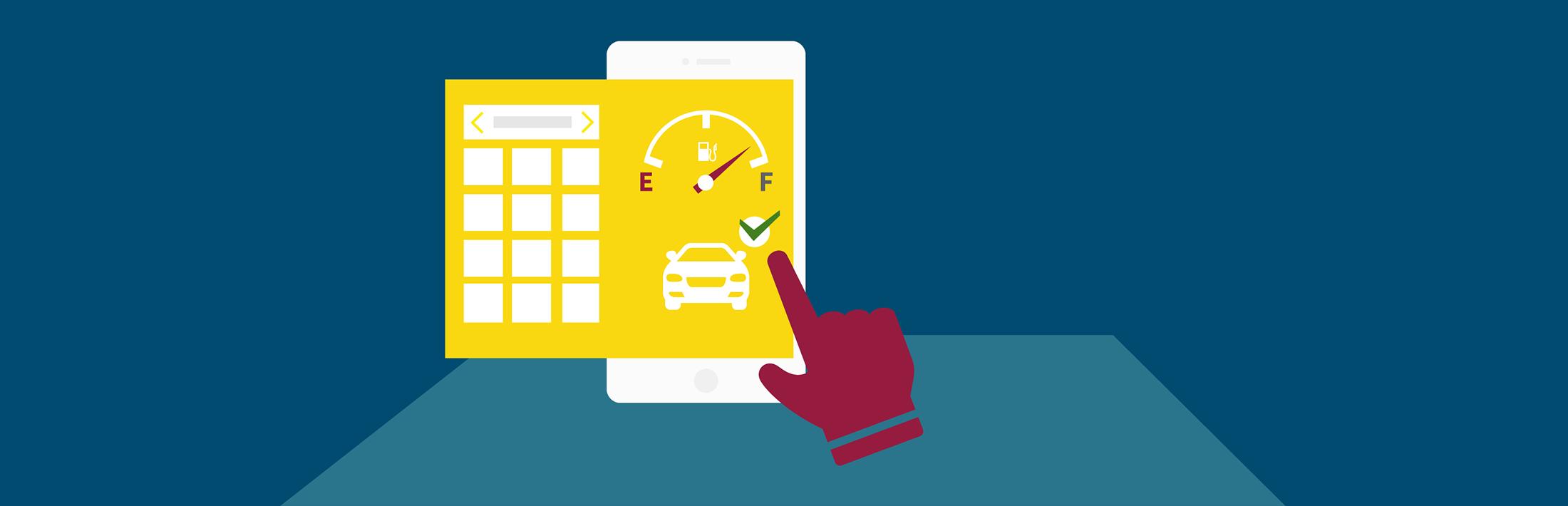 Aplicatia sharetoo iti arata toate rezervarile si detaliile despre masina.